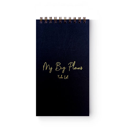 Black My Big Plans