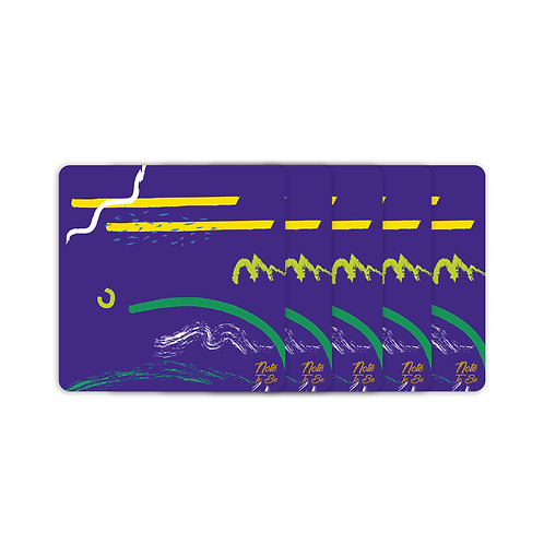 Artistic Lines Coaster Pack