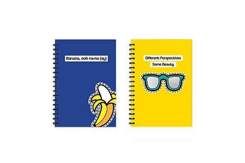 A5 Banana/ Mirror Sunglasses