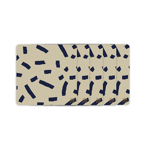 Wall Brushes Coaster Pack