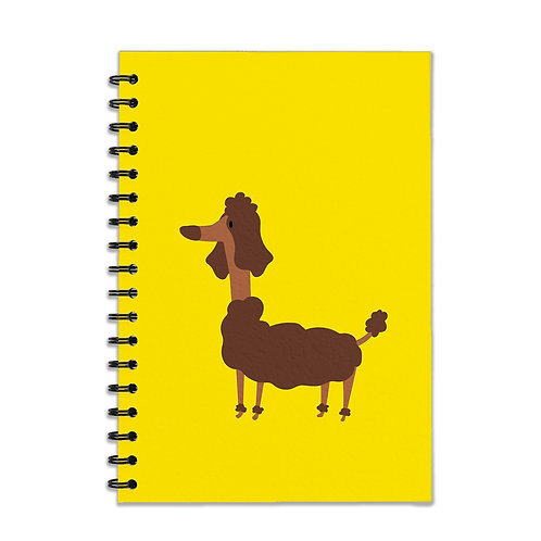 Fluffy Dog A5 Notebook