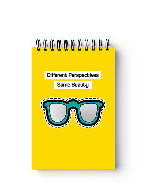Mirror Sunglasses Pocket-Sized Notebook