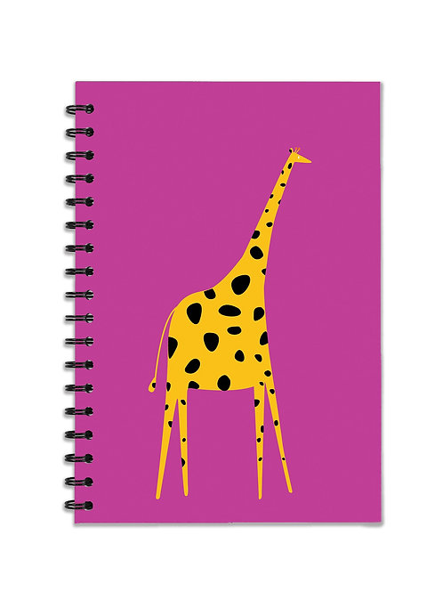Giraffe A5 Notebook