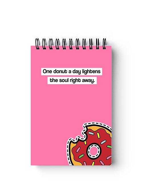 Donut Pocket-Sized Notebook