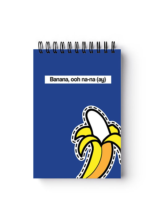 Banana Pocket-Sized Notebook