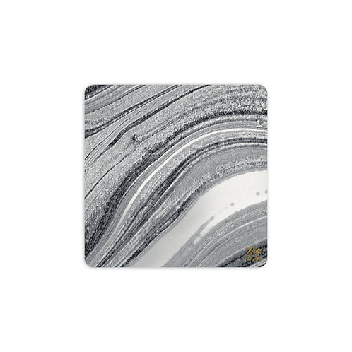 Silver Blends Coaster