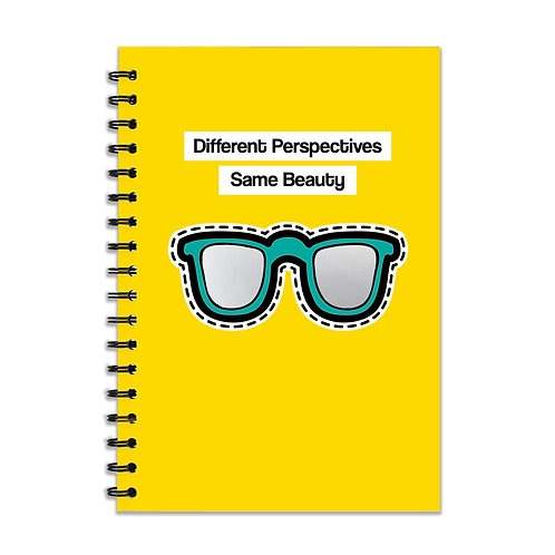 Mirror Sunglasses A5 Notebook