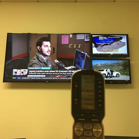 Added a Universal Remote #thecelebrityin