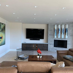 82 inch QLED by #Samsung and #jamo LCR s