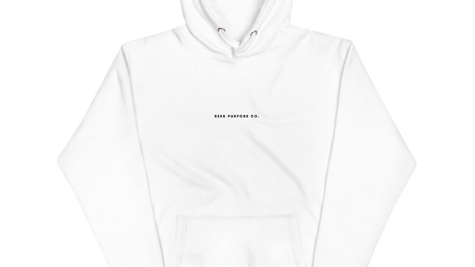 Seek Purpose Co. Embroidered Unisex Hoodie