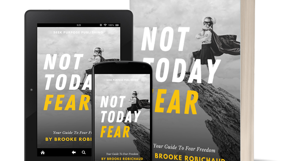 Not Today Fear E-Book