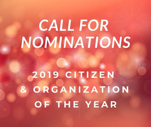 SPRINGFIELD REGIONAL CHAMBER OF COMMERCE SEEKS NOMINATIONS FOR 2019 CITIZEN and ORGANIZATION OF THE