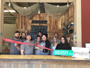Trout River Brewery's new tasting room at 100 River Street in Springfield, VT!