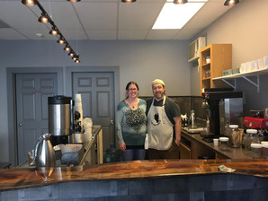 CELEBRATING FLYING CROW COFFEE CO.'S SOFT OPENING IN SPRINGFIELD