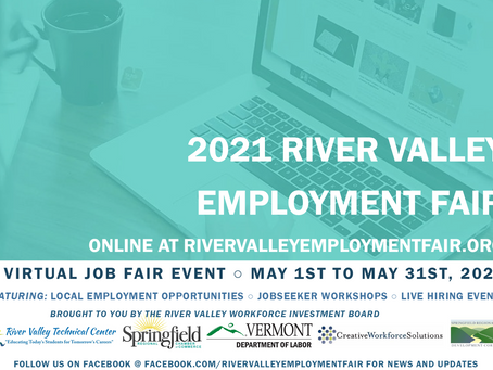 2021 VIRTUAL RIVER VALLEY EMPLOYMENT FAIR - CALL TO EMPLOYERS