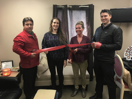 RIBBON CUTTING FOR ADVANCED SKIN CARE, WELLNESS & SPA