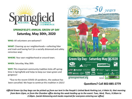 Springfield's Annual Green-Up Day Event