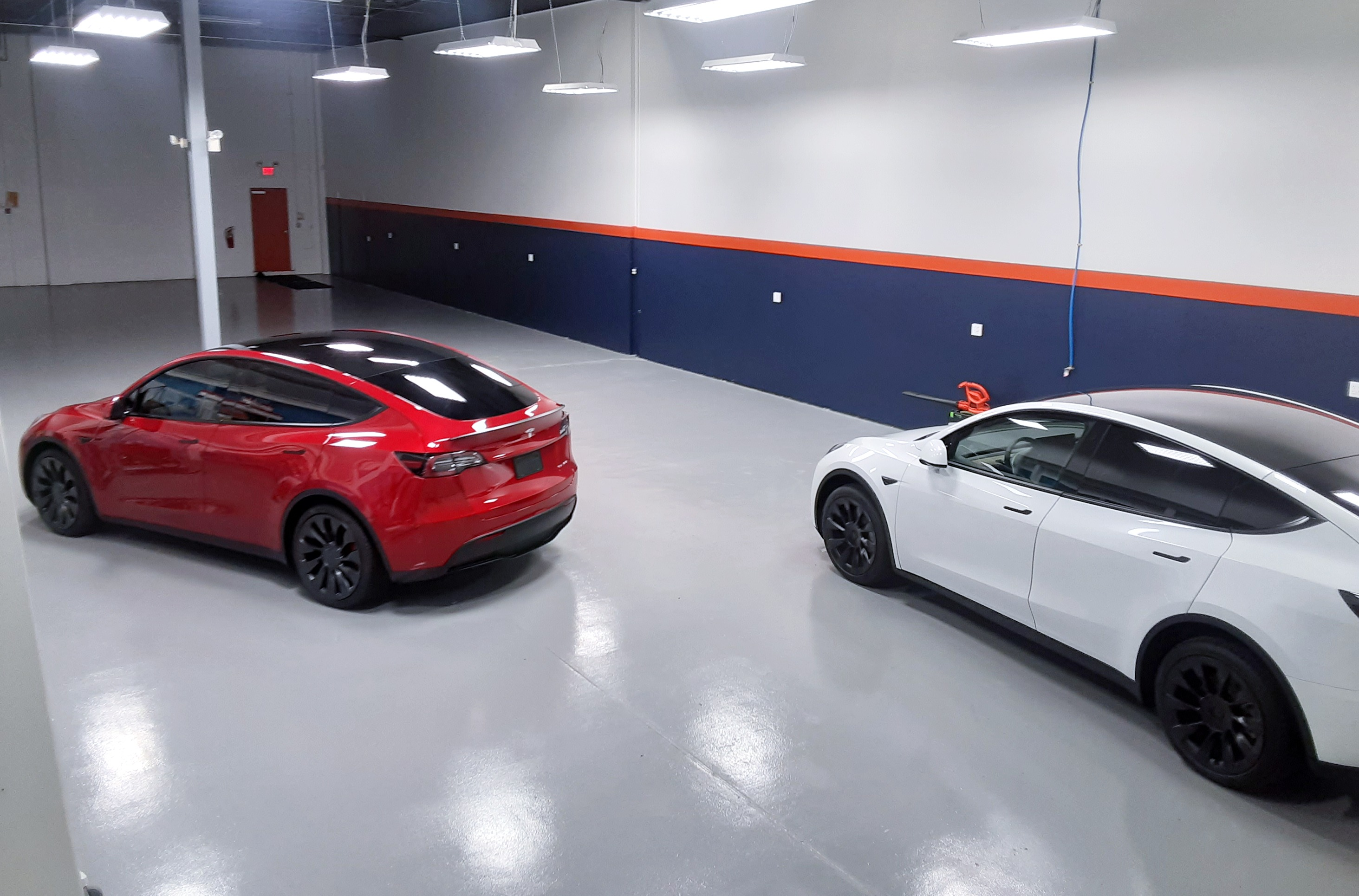 Tesla Model Y Red or White?