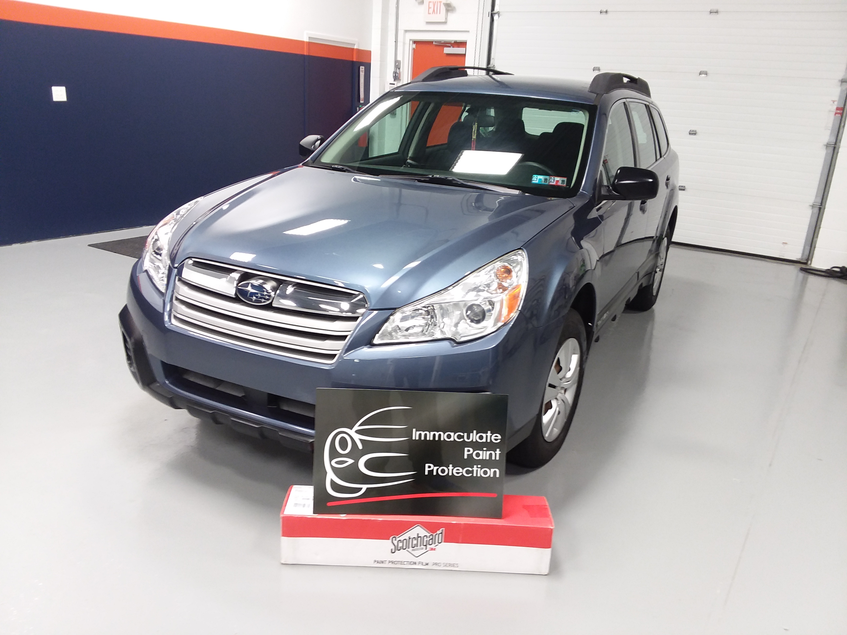 Subaru Outback Partial Front End