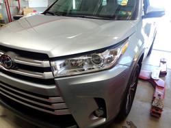 2019 Toyota Highlander Partial Hood