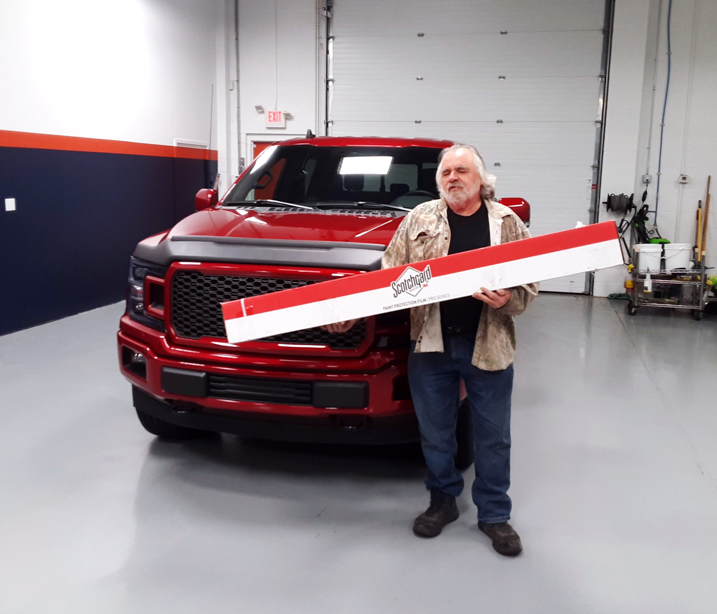 2020 Ford F150 Paint Protection Film on Bumper