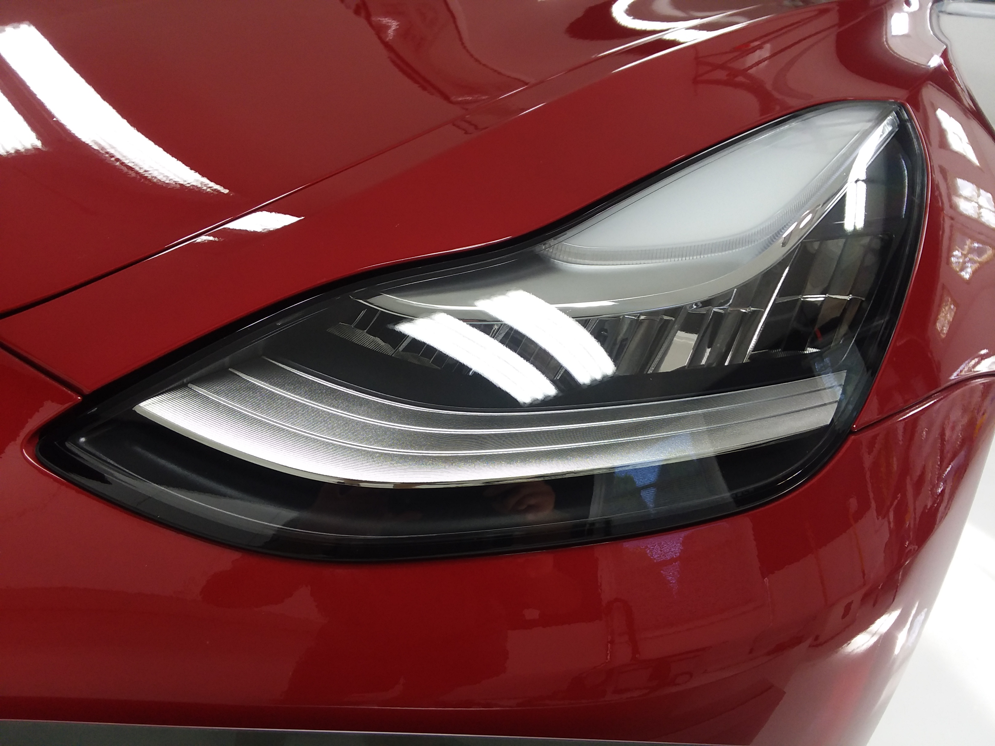 2018 Tesla Model 3 Headlight PPF