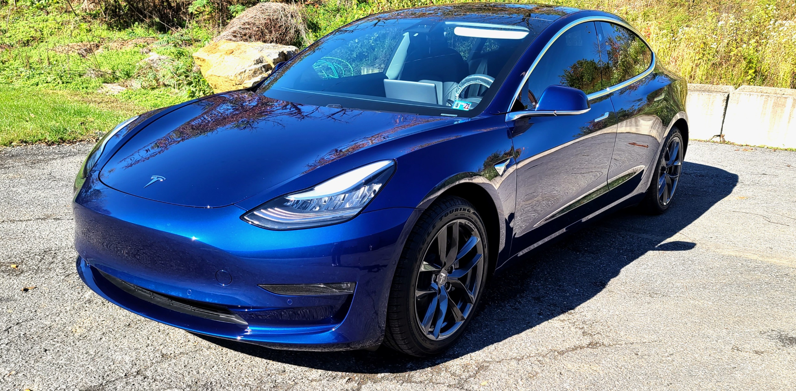 Tesla Model 3 Full Body Paint Protection Film