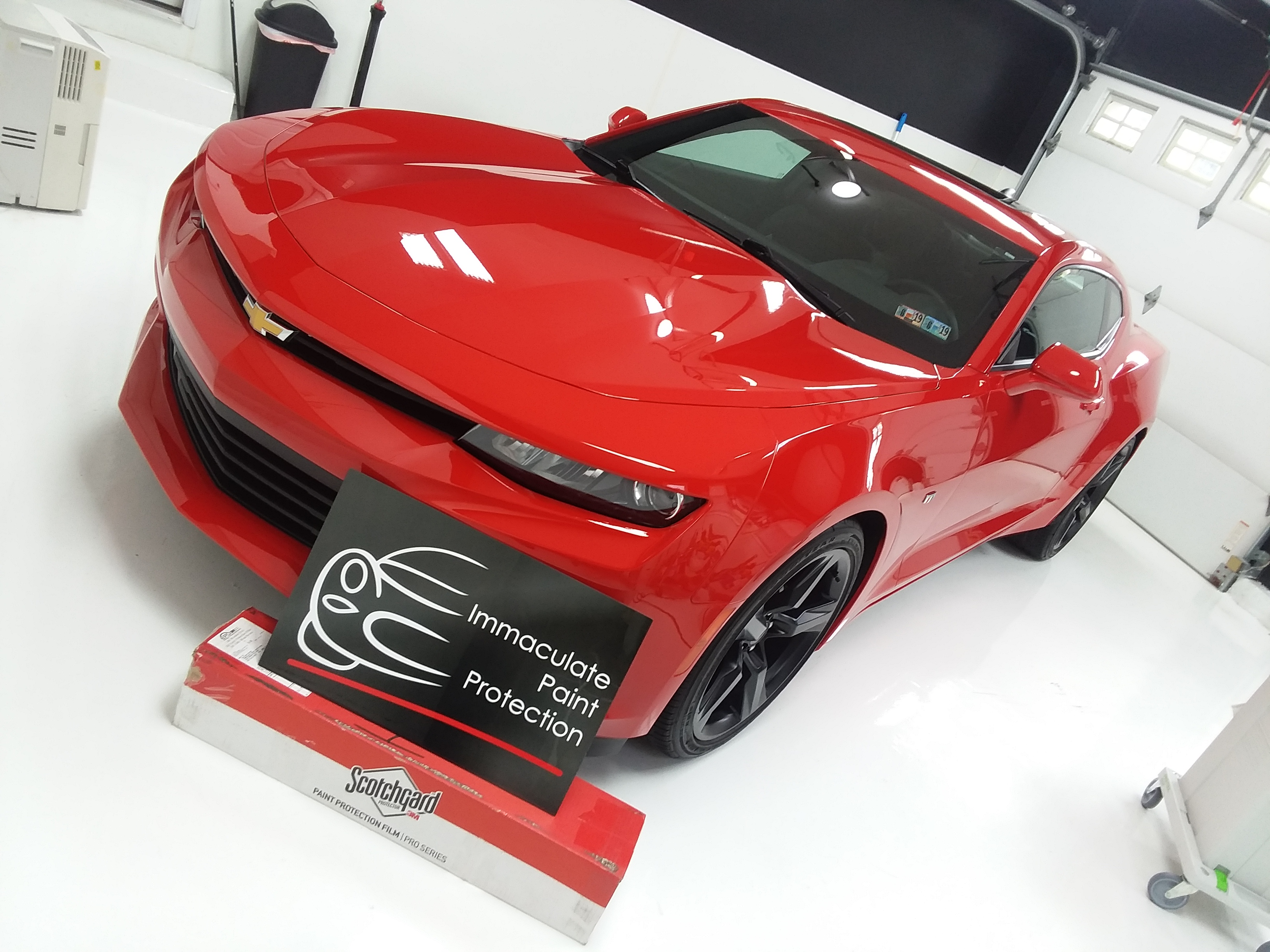 2018 Chevy Camaro No Rock Chips