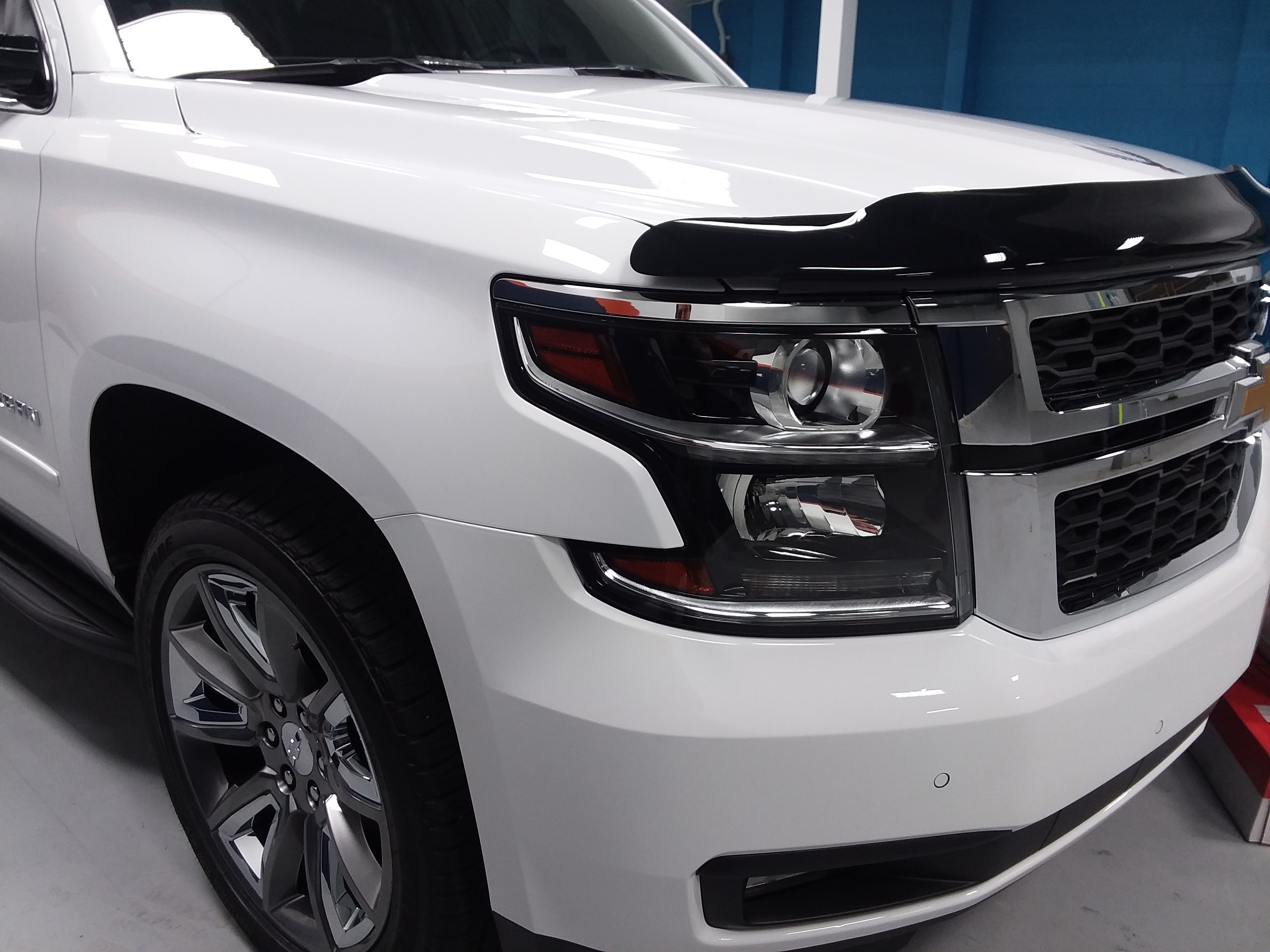 2018 Chevrolet Suburban Close Up PPF