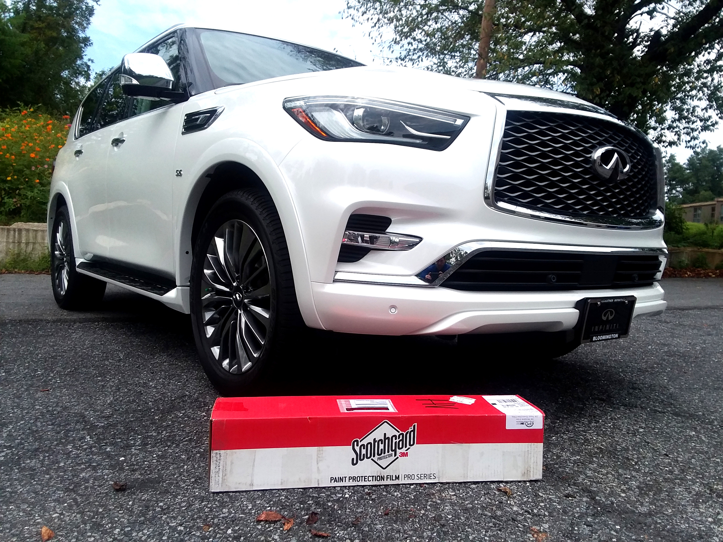 2019 Infiniti QX80 No Rock Chip