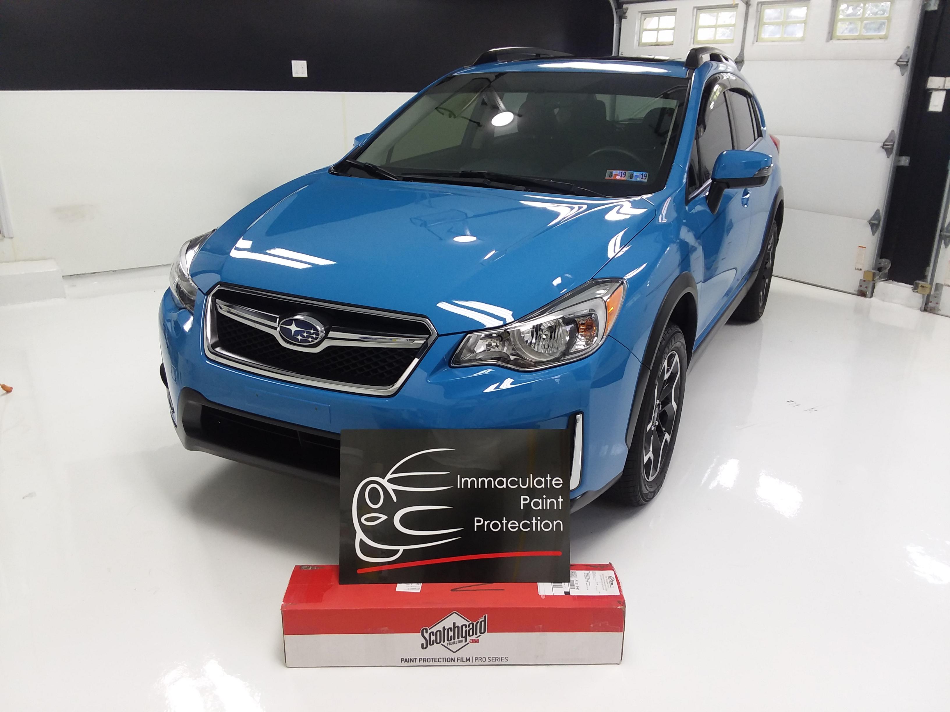 2016 Subaru Crosstrek 3M PPF