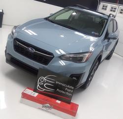 2019 Subaru Crosstrek 3M Clear Bra