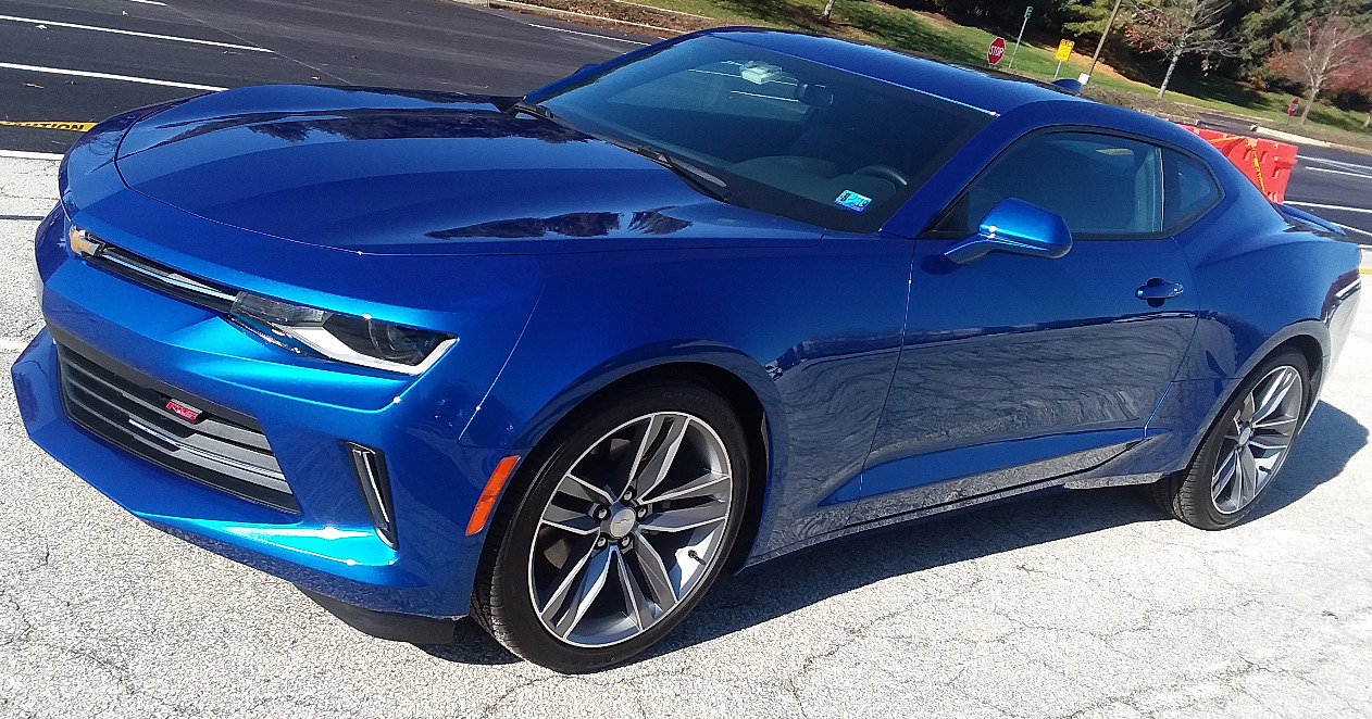 2017 Chevy Camaro 2LT PPF Cquartz UK