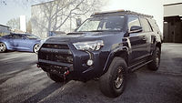 Toyota 4Runner w Ceramic Coat and Paint Protection Film by Immaculate Paint Protection