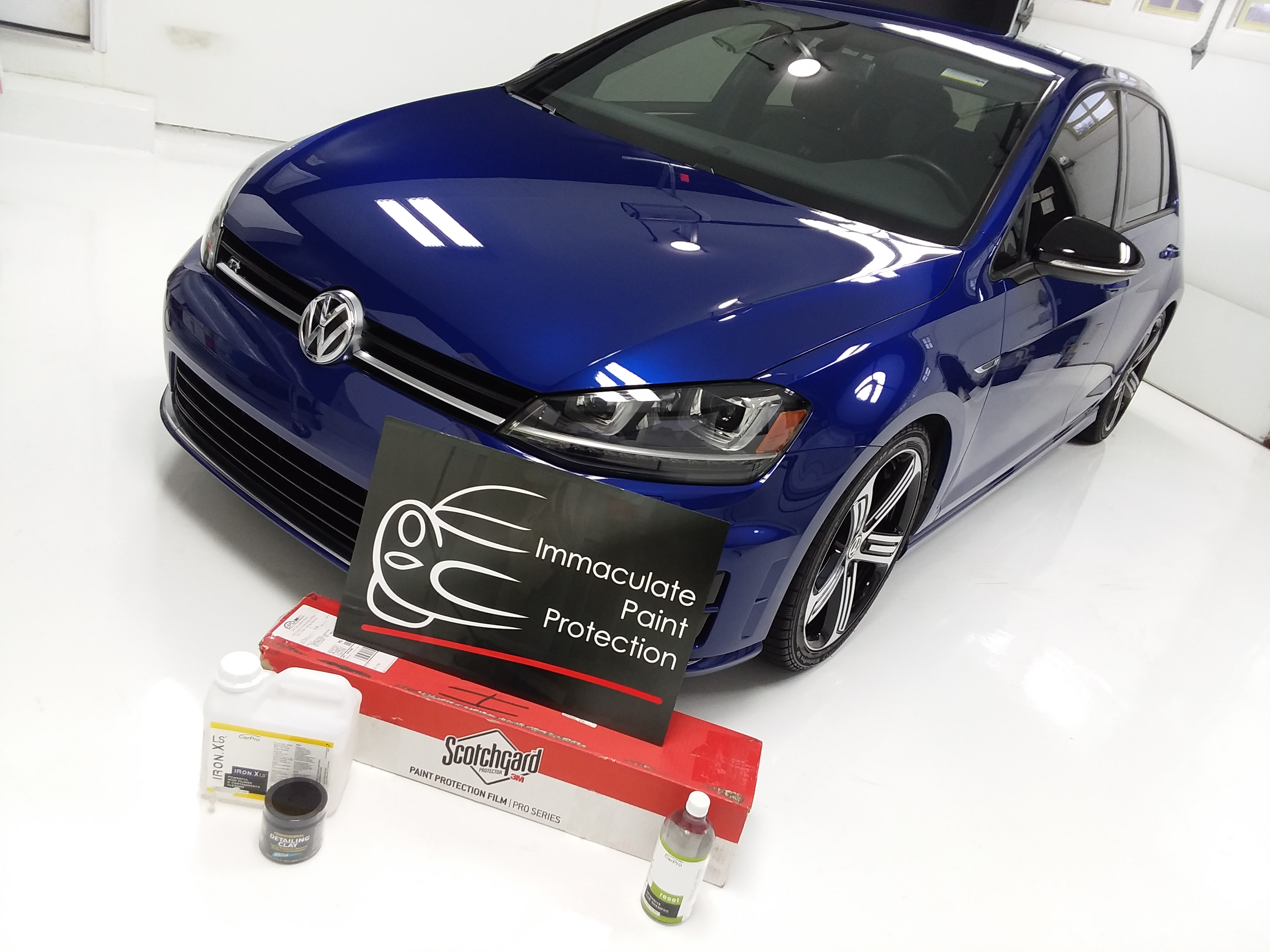 Volkswagen Golf R Clear Bra