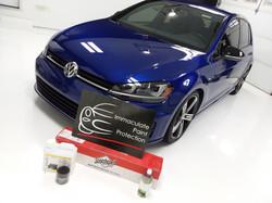 Volkswagen Golf R Clear Bra