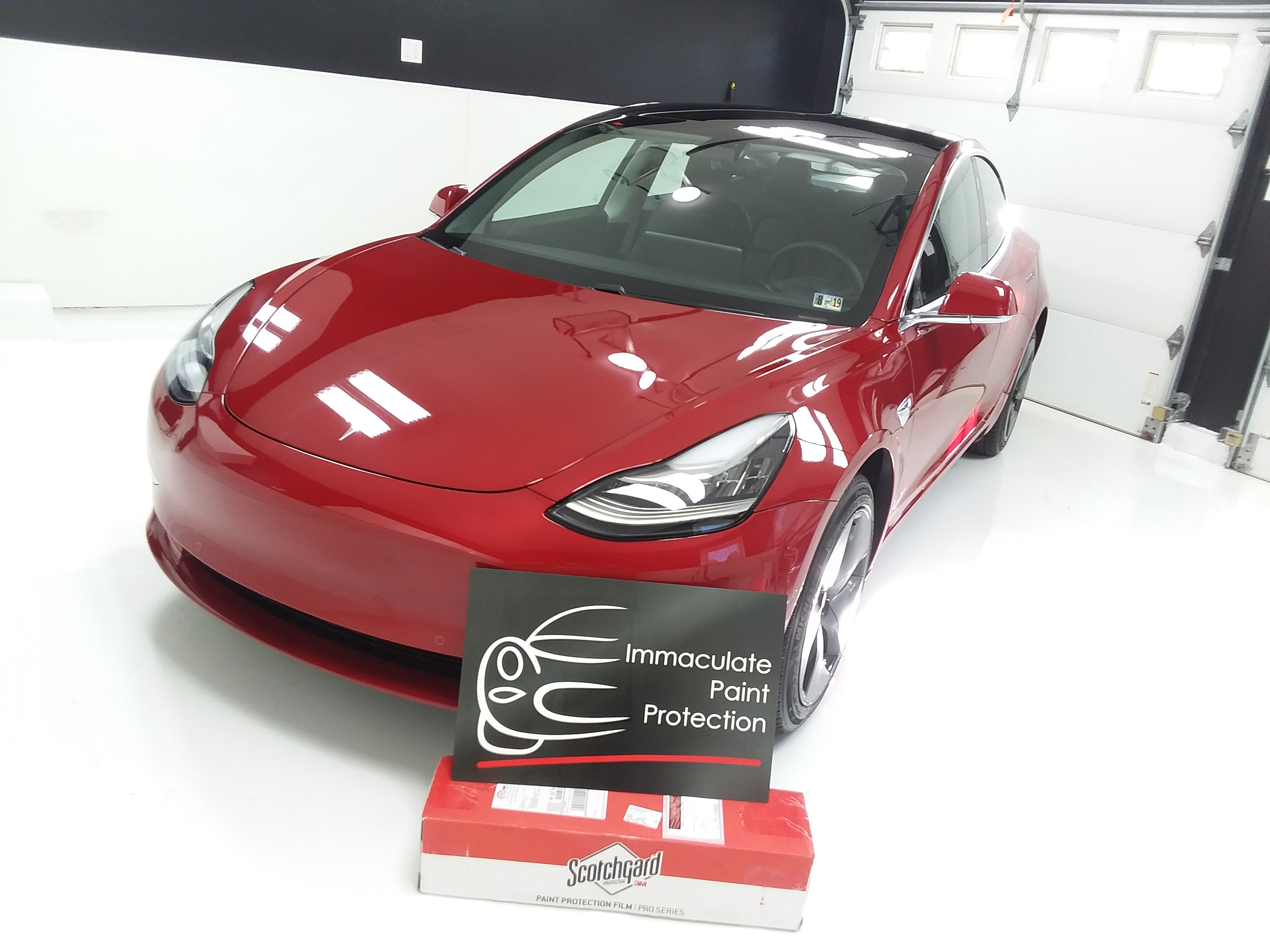2018 Tesla Model 3 Clear Bra