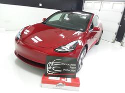 2018 Tesla Model 3 Clear Bra