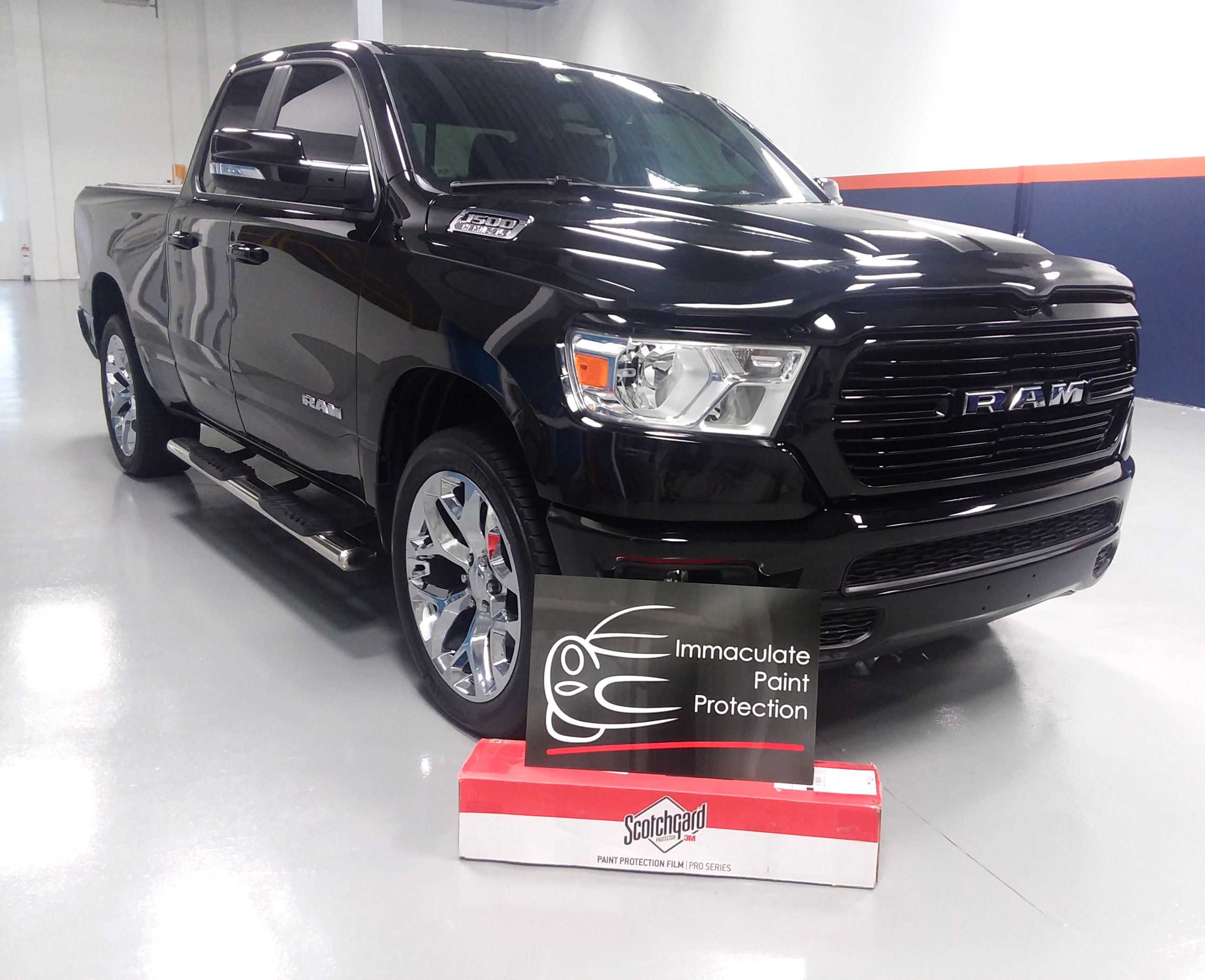 2019 Ram Big Horn 3M Clear Bra