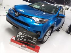 2018 Toyota Rav4 3M Clear Bra