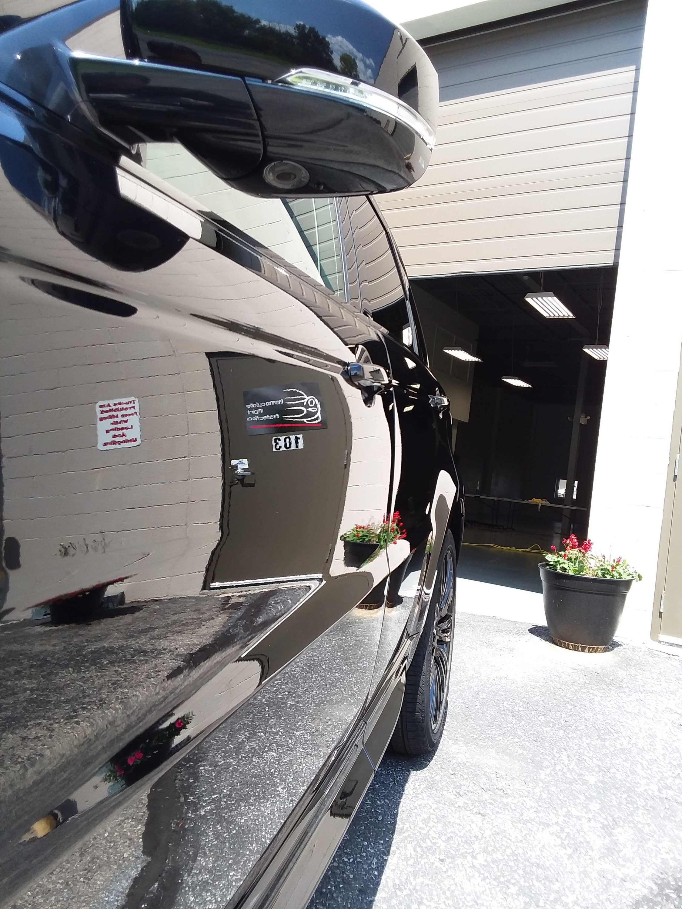 Range Rover After Paint Correction