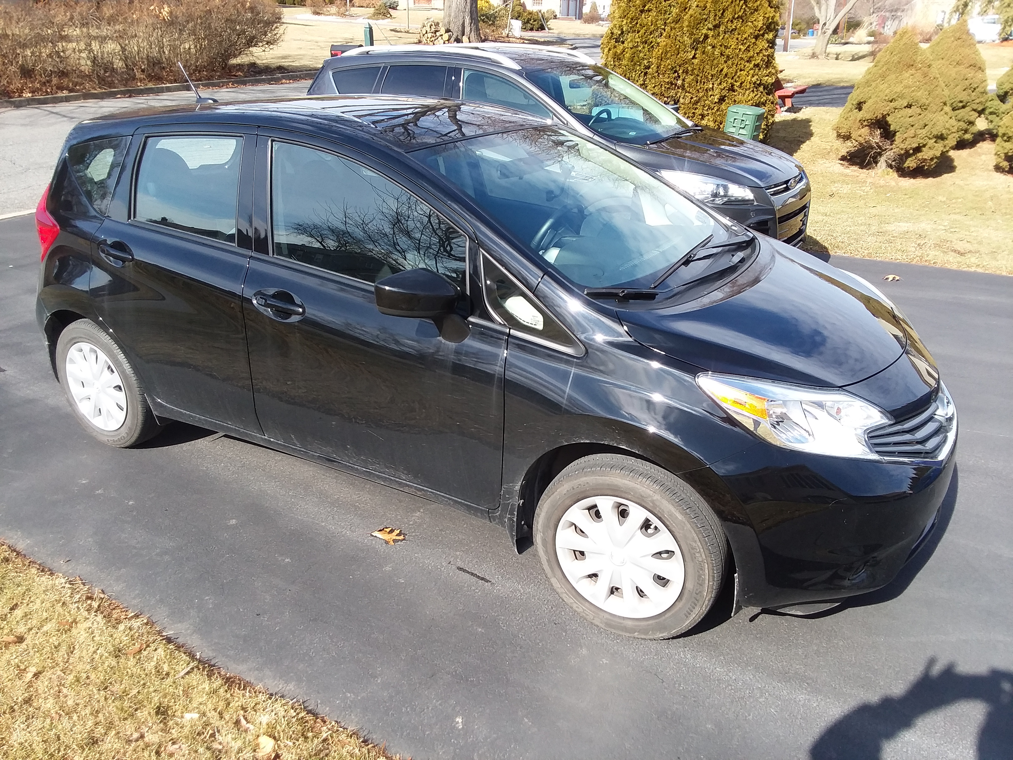 Nissan Versa Note Before Decon No Film