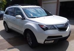 2012 Acura MDX - Before Decon Wash