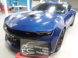 Camaro SS Invisible Paint Protection