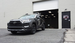 2020 Rav4 with Partial Front End PPF