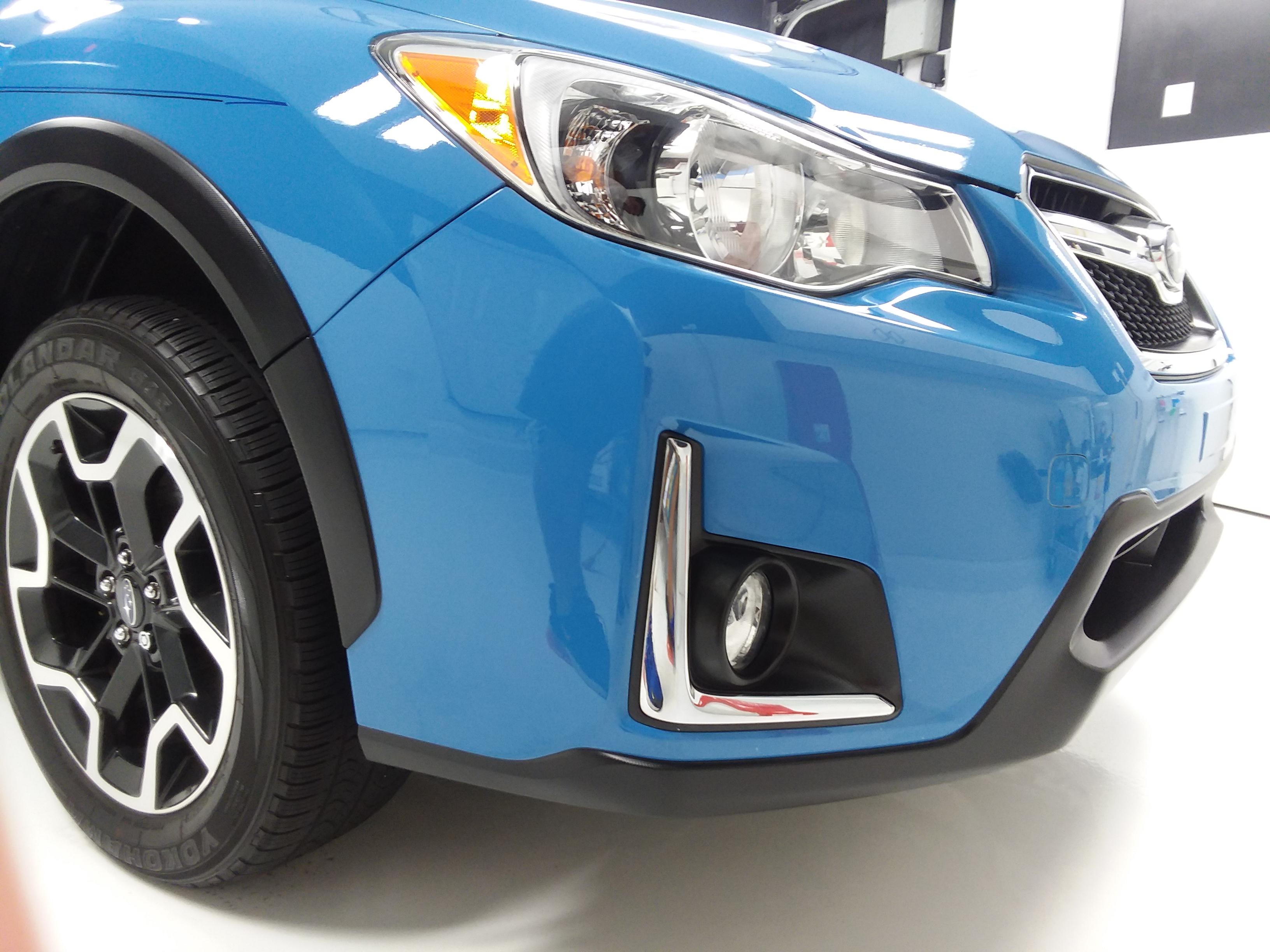 2016 Subaru Crosstrek Clear Bra