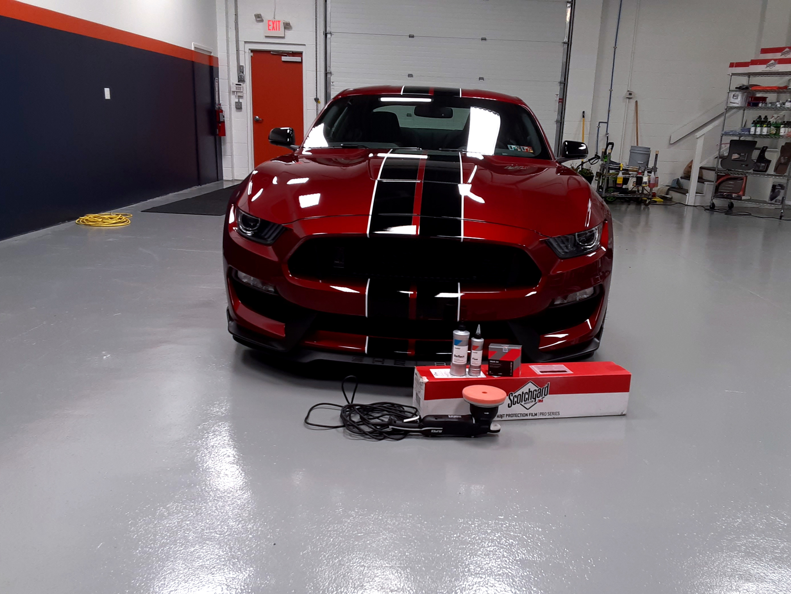 2018 Mustang PPF Ceramic Coating