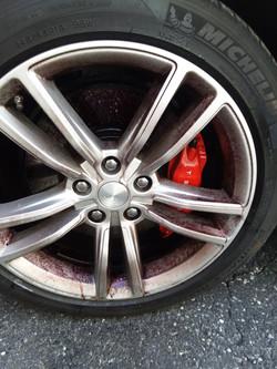 2015 Tesla P90D Wheel During