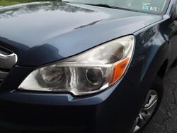 2013 Subaru Outback Faded Headlight
