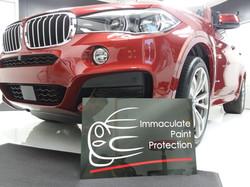 BMW X6 M Sport PPF Clear Bra